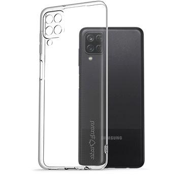 AlzaGuard Crystal Clear TPU Case Samsung Galaxy A12 készülékhez - Telefon hátlap
