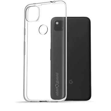 AlzaGuard Crystal Clear TPU Google Pixel 4a készülékhez - Telefon hátlap