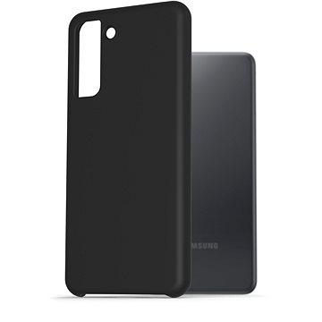 AlzaGuard Premium Liquid Silicone Samsung Galaxy S21 5G - fekete - Telefon hátlap