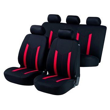 Walser Hastings minden ülésre, piros / fekete - Autós üléshuzat