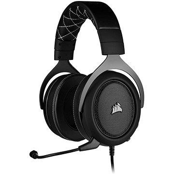 Corsair HS60 PRO Surround Carbon - Gamer fejhallgató