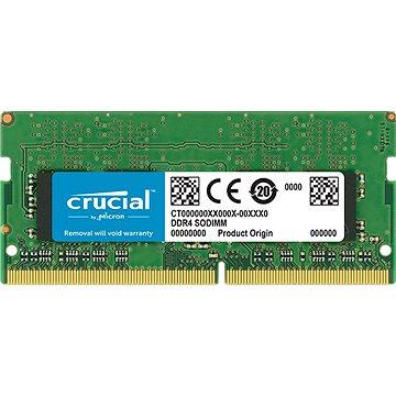 Crucial  SO-DIMM 4 GB DDR4 2666 MHz CL19 Single Ranked - Rendszermemória