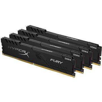 HyperX 64 GB-os KIT DDR4 3200MHz CL16 FURY Black - Rendszermemória