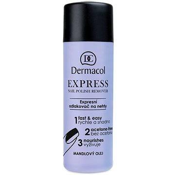 DERMACOL Express Körömlakk lemosó Remover120 ml - Körömlakklemosó