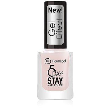 DERMACOL 5 Days Stay Gel Effect Nail Polish No.26 Satiné (12 ml) - Körömlakk