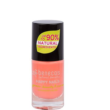 BENECOS Happy Nails Green Beauty & Care Peach Sorbet 5 ml - Körömlakk