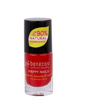 BENECOS Happy Nails Green Beauty & Care Vintage Red 5 ml - Körömlakk