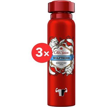 OLD SPICE Wolfthorn 3 × 150 ml - Férfi dezodor