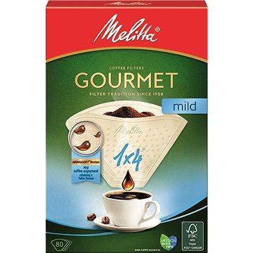 Melitta Gourmet MILD kávéfilter 1x4 / 80 - Kávéfilter