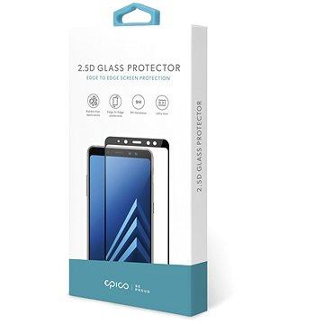 Epico Glass 2.5D Samsung Galaxy A80 készülékhez, fekete - Üvegfólia