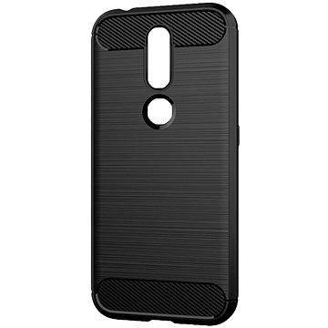 Epico CARBON Nokia 4.2, fekete - Telefon hátlap