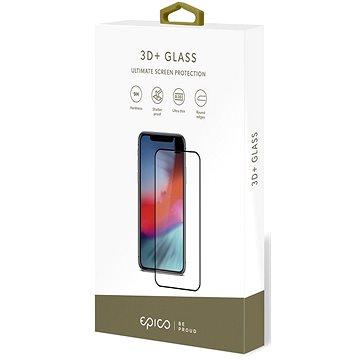 Epico Glass 3D+ iPhone X/XS készülékhez - fekete - Üvegfólia