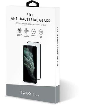 Epico antibakteriális 3D + üveg iPhone X / XS / 11 Pro - fekete - Üvegfólia