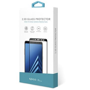 Epico 2.5D Glass Huawei P Smart S - fekete - Üvegfólia