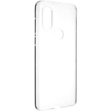 FIXED Skin tok Motorola One Vision készülékhez, 0.6 mm, átlátszó - Telefon hátlap