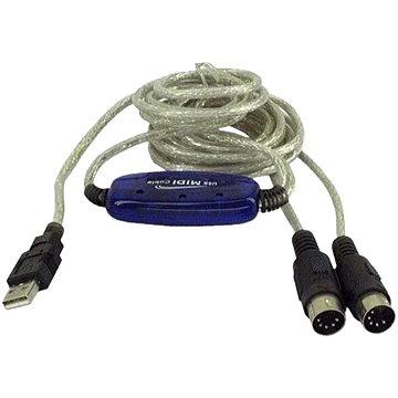 PremiumCord  USB -> MIDI Konverter - Hajtókar