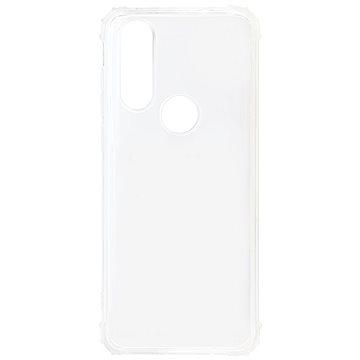 Hishell TPU Shockproof tok Motorola One Action készülékhez - átlátszó - Telefon hátlap