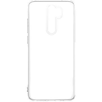 Hishell TPU a Xiaomi Redmi Note 8 Pro készülékhez átlátszó - Telefon hátlap