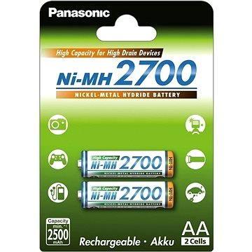 Panasonic eneloop NiMH AA 2700mAh 2db - Tölthető elem