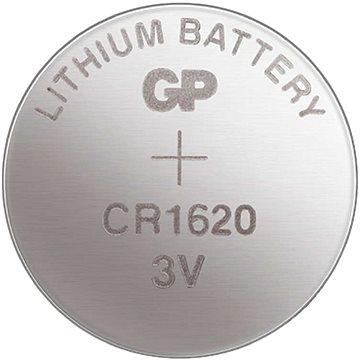 GP lítium gombelem GP CR1620 - Gombelem