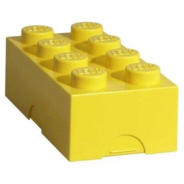 LEGO Uzsonnás doboz 100 x 200 x 75 mm 100 x 200 x 75 mm - sárga - Uzsonnás doboz
