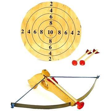 Kis számszeríj nyilakkal és céltáblával - Játékfegyver