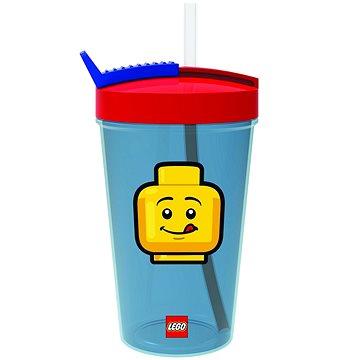 LEGO Iconic Classic piros és kék - Kulacs