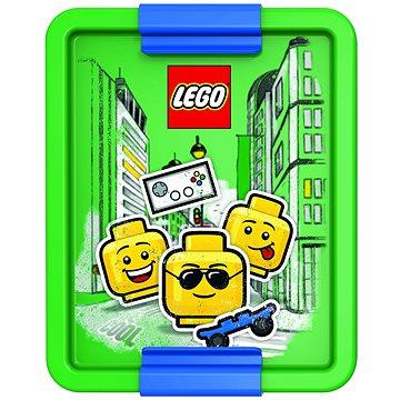 LEGO Iconic Boy zöldes-kék - Uzsonnás doboz