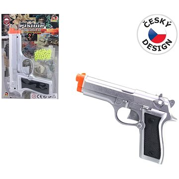 Golyós pisztoly műanyag - Játékfegyver