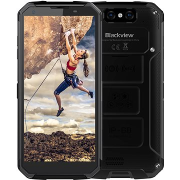 Blackview GBV9500 Plus fekete - Mobiltelefon