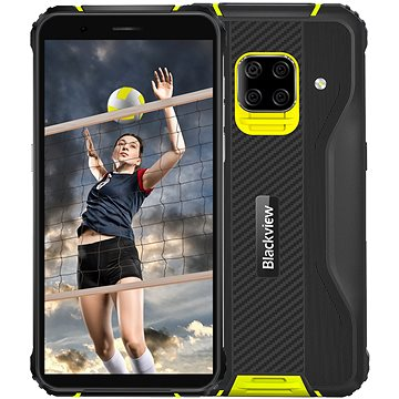 Blackview GBV5100 sárga - Mobiltelefon