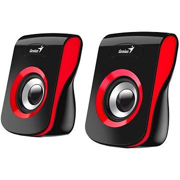 GENIUS SP-Q180 Red piros - Hangfal