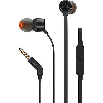 JBL T110 fekete - Fej-/fülhallgató