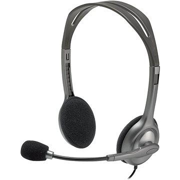 Logitech Stereo Headset H111 - Fej-/fülhallgató