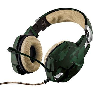 Trust GXT Gaming Headset 322c Green Camouflage - Gamer fejhallgató
