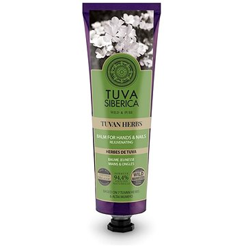 NATURA SIBERICA Tuva Siberica Tuvan Herbs Rejuvenating Hand & Nail Balm 75 ml - Kézkrém