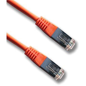 Datacom Patch kábel FTP CAT5E 0,5 m narancssárga - Hálózati kábel