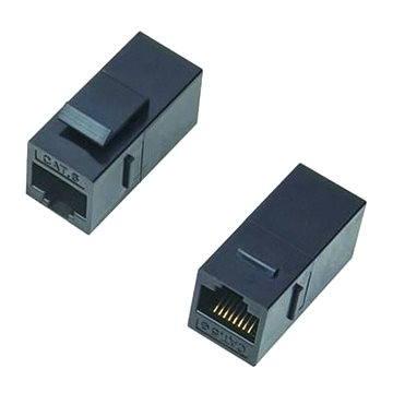 Datacom panel csatlakozó UTP CAT6 2xRJ45 (8p8c) egyenes - Vezeték összekötők