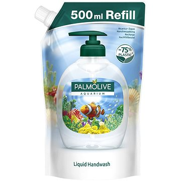 PALMOLIVE Naturals Aquarium & Florals - tartalék patron 500 ml - Folyékony szappan