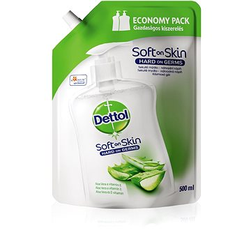 DETTOL Aloe Vera és E-vitamin folyékony szappan utántöltő 500 ml - Folyékony szappan
