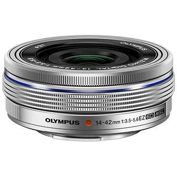M.ZUIKO DIGITAL ED 14-42 mm f/3,5-5,6 EZ silver - Objektív
