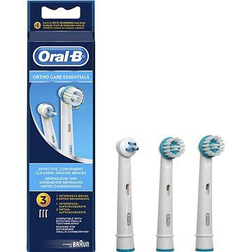 Oral-B Ortho Care pótfej fogszabályzóhoz, 3 db - Fogkefe fej