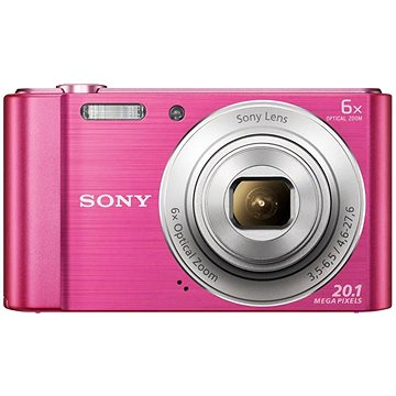 Sony DSC-W810 Pink - Digitális fényképezőgép