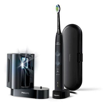 Philips Sonicare ProtectiveClean Gum Health fekete HX6850/57 UV fertőtlenítővel - Elektromos fogkefe