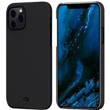 Pitaka MagEZ Black/Grey Plain iPhone 12 Pro Max - Telefon hátlap