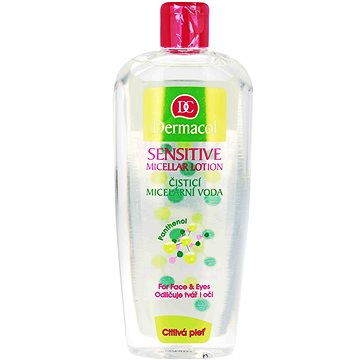 DERMACOL Sensitive Micellar Lotion 400 ml - Micellás víz
