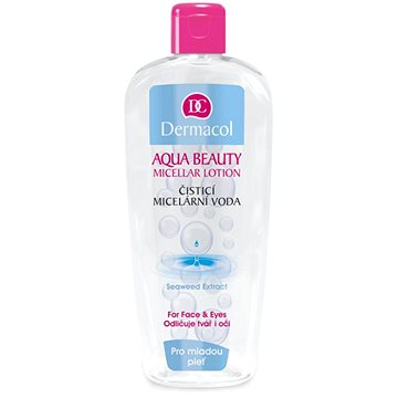 DERMACOL Aqua Beauty micellás lotion 400 ml - Micellás víz