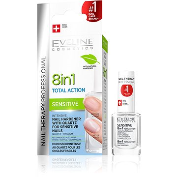 Eveline Cosmetics Nail Spa 8in1 Sensitive 12 ml - Körömlakk