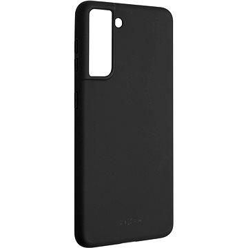 FIXED Story Samsung Galaxy S21 készülékre, fekete - Mobiltelefon hátlap