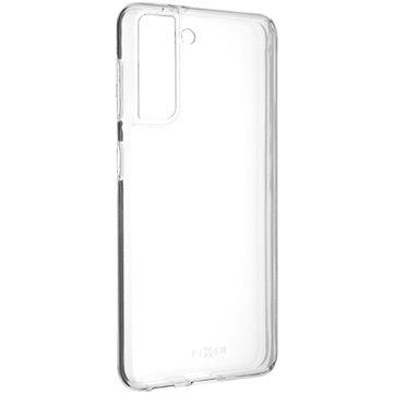 FIXED Skin Samsung Galaxy S21 készülékre, 0.6 mm áttetsző - Mobiltelefon hátlap